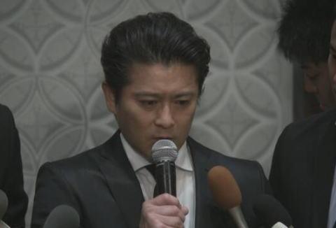 ジャニーズ事務所、TOKIOの山口達也メンバー(46)との契約を解除 … 山口本人から事務所に対して強い辞意表明→ ジャニー社長と城島が協議し申し出を受理