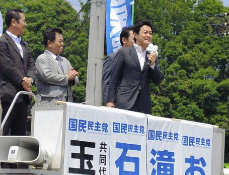国民民主党の玉木雄一郎共同代表「庶民の感覚がわからない2世3世はルパン3世だけでいいんですよ。だからもう一度、私たちに政権を託していただきたい」