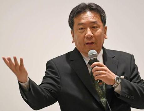 内閣不信任案を検討している立憲・枝野幸男代表「一刻も早く国民の信を問え。自信があるなら堂々と衆院を解散しろと思っている」