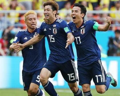 サッカーW杯、日本代表がコロンビアを2-1で破り勝ち点3を挙げる大金星 … W杯でアジア勢が南米勢に勝つのは初、散々バ力にしてた日本代表に懺悔