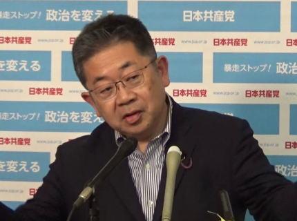 共産党・小池晃氏、麻生氏の発言を皮肉ったつもりで「新聞を読んで真実が伝われば自民支持にならない」「若い層が赤旗を読めば共産党支持になる状況をつくりたい」
