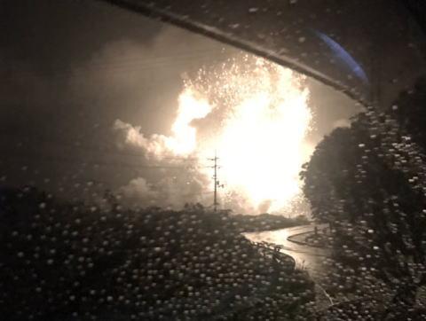 岡山・総社の工場が大爆発、岡山市・倉敷市・高梁市など半径50km以上に音が鳴り響く (画像) … 爆風で「家のガラスが吹き飛んだ」などの報告多数