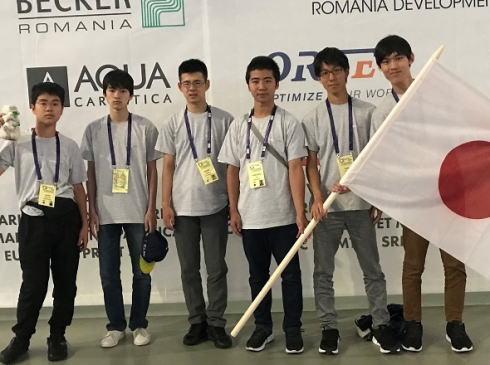 国際数学オリンピック、日本代表として高校生6人が参加し金1、銀3、銅2のメダルを獲得 … 黒田直樹君(兵庫・灘高校3年)は世界6位に