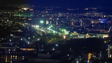 京都貨物駅【京都タワーより】