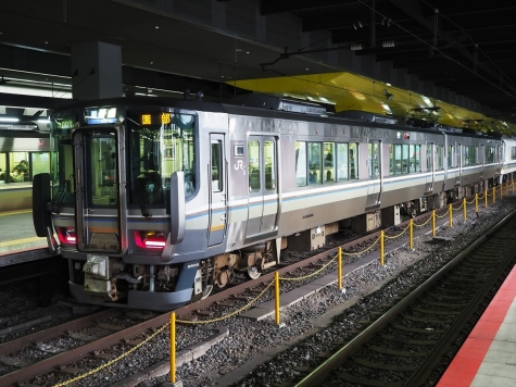 JR 嵯峨野線 223系5500番台 電車【京都駅】