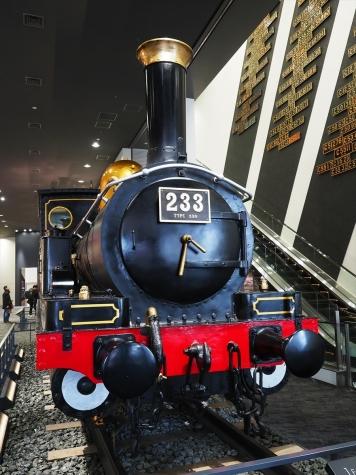 蒸気機関車 230形 233号機【京都鉄道博物館】