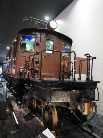 電気機関車 EF52形 1号機【京都鉄道博物館】