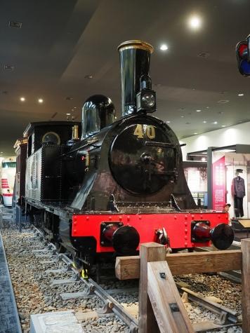 蒸気機関車 1800形 1801号機【京都鉄道博物館】