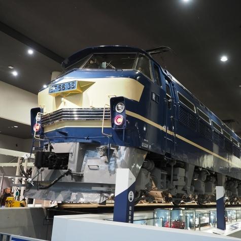 電気機関車 EF66形 35号機【京都鉄道博物館】