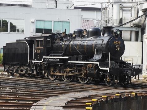 蒸気機関車 8620形 8630号機【京都鉄道博物館】