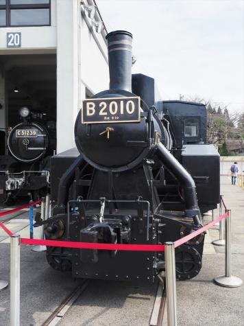 蒸気機関車 B20形10号機【京都鉄道博物館】