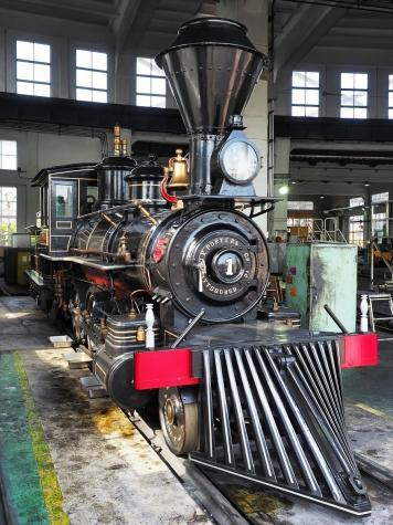 蒸気機関車 7100形7105号機「義経」号【京都鉄道博物館】