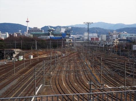 京都駅方向