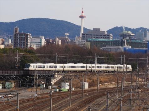 JR 嵯峨野線 221系 電車