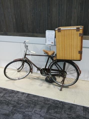 紙芝居屋の自転車【京都鉄道博物館】