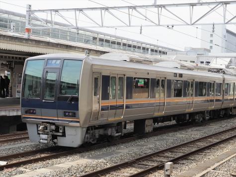 JR西日本 207系 電車【京都駅】