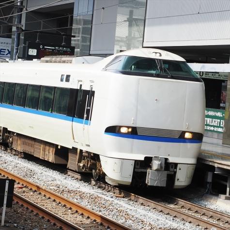 JR西日本 683系4000番台 特急「サンダーバード」【京都駅】