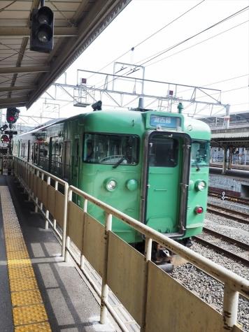JR湖西線 113系 電車【京都駅】