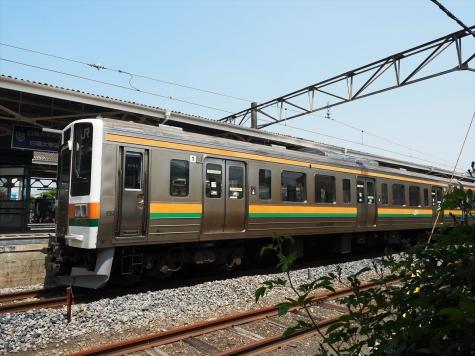 JR 両毛線 211系3000番台 電車【足利駅】