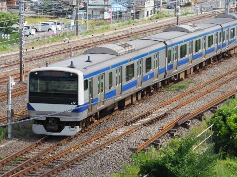 JR常磐線 E531系 電車【土浦駅周辺】
