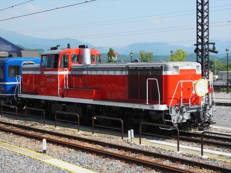 ディーゼル機関車 DE10 1099【下今市駅】