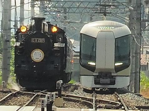 東武鉄道 500系 特急リバティけごん3号【下今市駅】