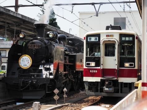 東武鉄道 6050系 電車【鬼怒川温泉駅】