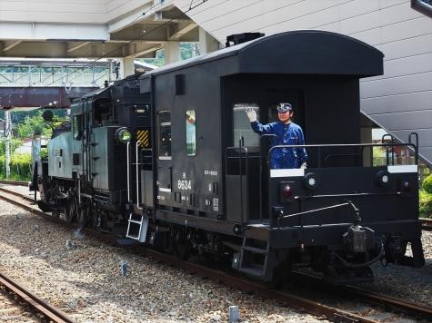 蒸気機関車 C11形 207号機【鬼怒川温泉駅】