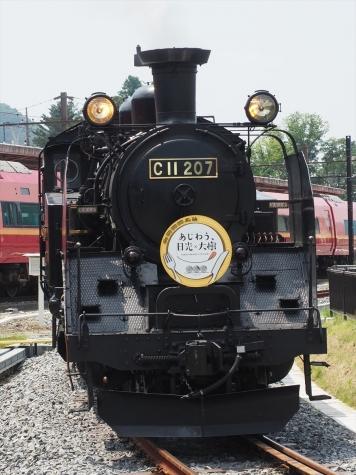 蒸気機関車 C11形 207号機【鬼怒川温泉駅 転車台】