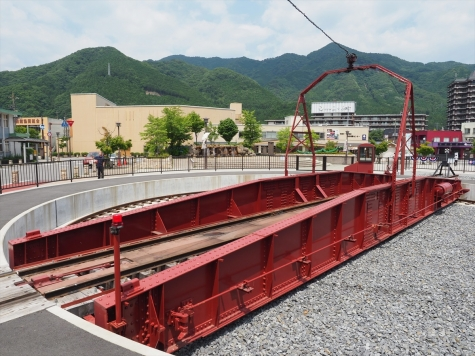 鬼怒川温泉駅 転車台