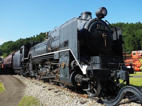 蒸気機関車 D51 96【碓氷鉄道文化むら】