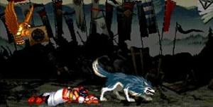 ナコルルを守る狼と鷹