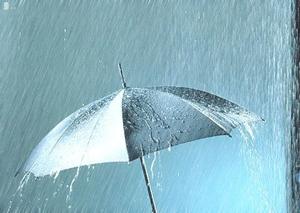大阪は大雨