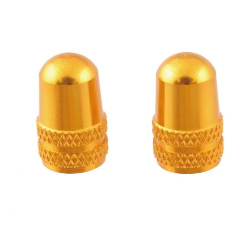 111579 米式アルミバルブキャップ ゴールド