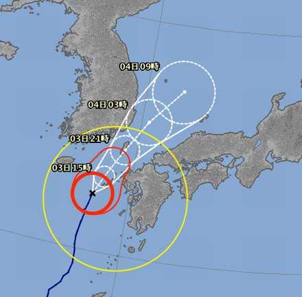 台風7号 7_03_am10