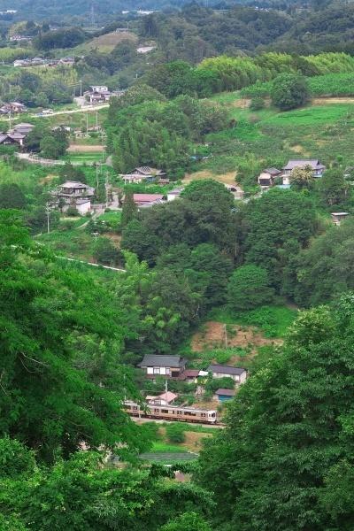 IMG_7425 ②飯田線リンゴ畑俯瞰