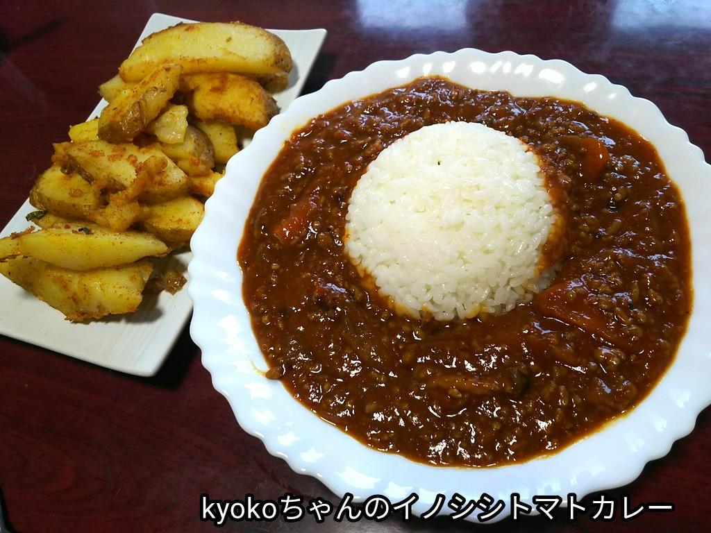 kyokoちゃんのイノシシトマトカレー