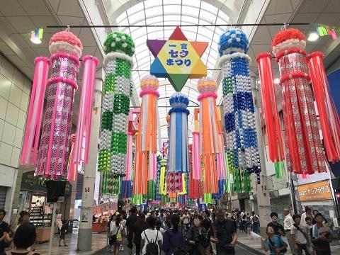 1407-本町商店街の飾り