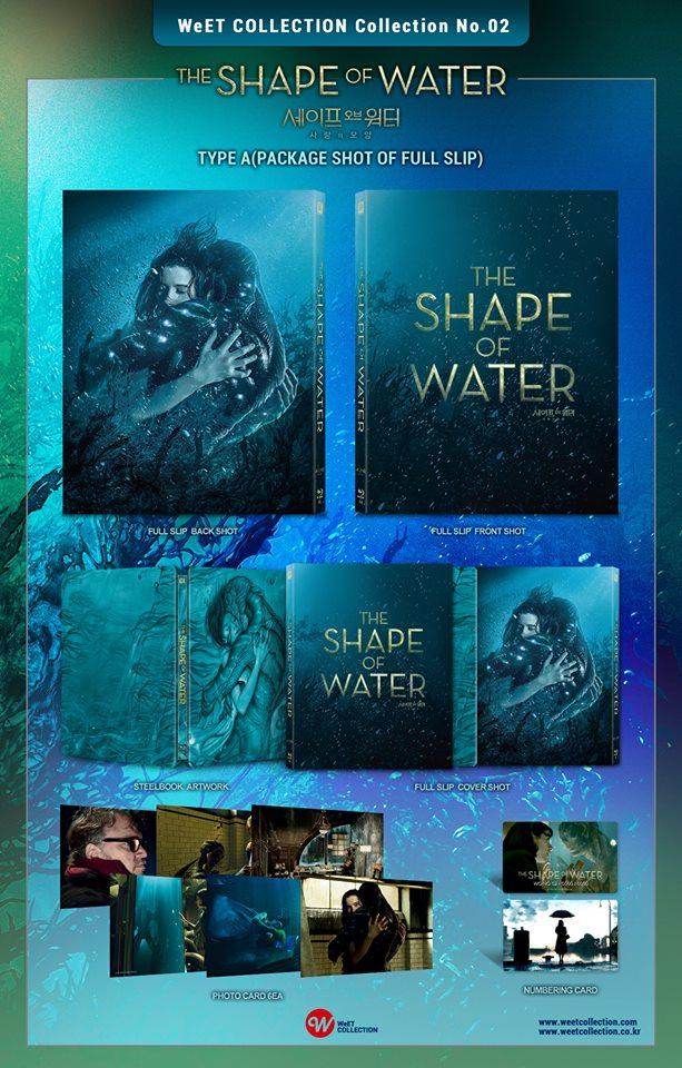 シェイプ・オブ・ウォーター スチールブック 韓国 WeETCollection The Shape of Water korea steelbook