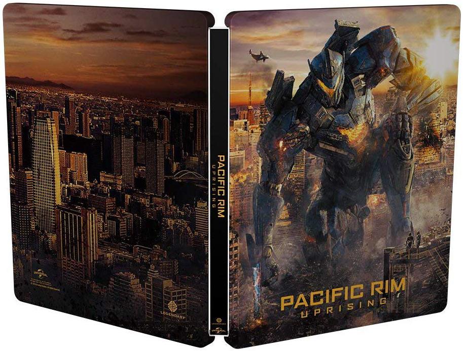 パシフィック・リム:アップライジング スチールブック Pacific Rim: Uprising Japan steelbook