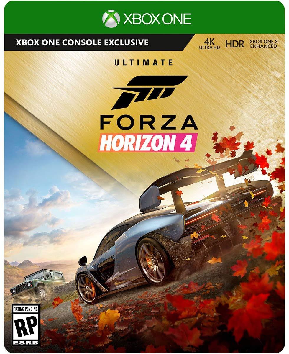 Forza Horizon 4 アルティメットエディション スチールブック 4K Ultra HD