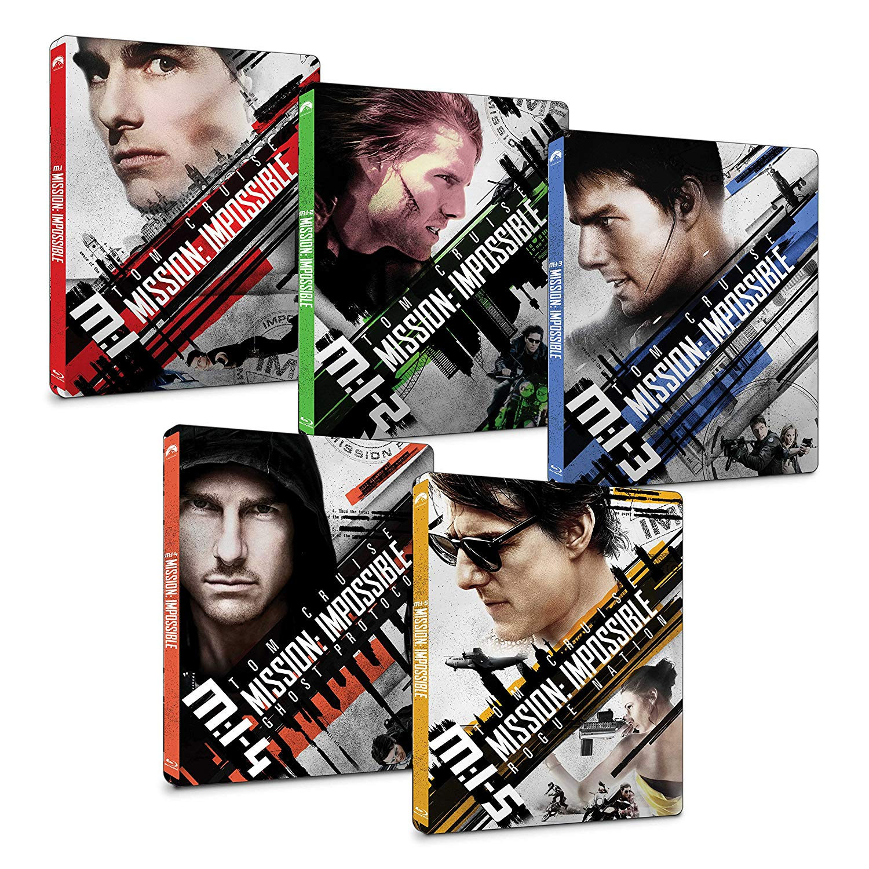 Mission: Impossible steelbook ミッション:インポッシブル スチールブック 4K Ultra HD