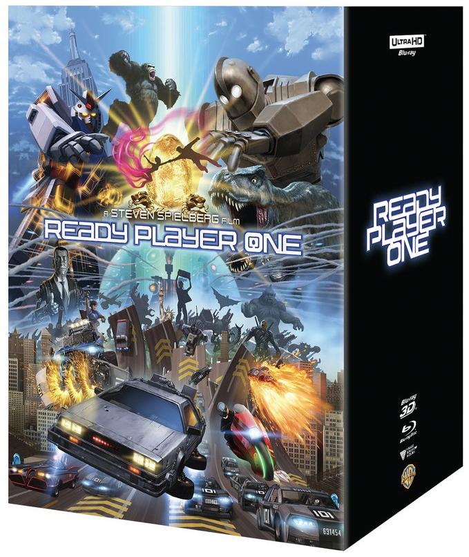 レディ・プレイヤー1 香港 Manta Lab スチールブック Ready Player One steelbook