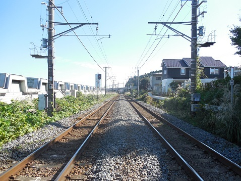 JR横浜線の東光寺踏切@町田市d