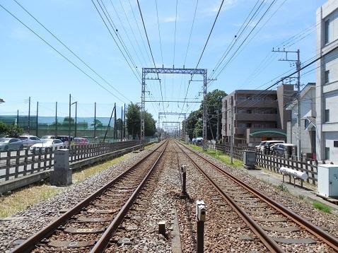 小田急江ノ島線の相模大野2号踏切@相模原市南区e