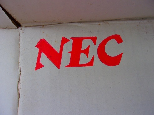 NECの旧ロゴ