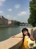 セーヌ川と青以