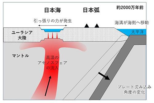 ヴォイニッチの科学書 第696回 日本海はどうやってできたのかよくわかっていない