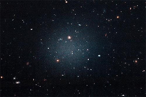 ダークマターのないシースルー銀河