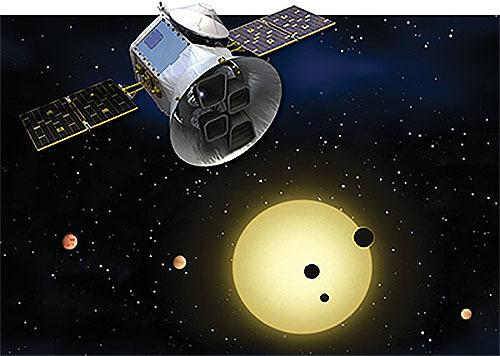 ヴォイニッチの科学書 第705回 系外惑星探索宇宙望遠鏡(TESS)